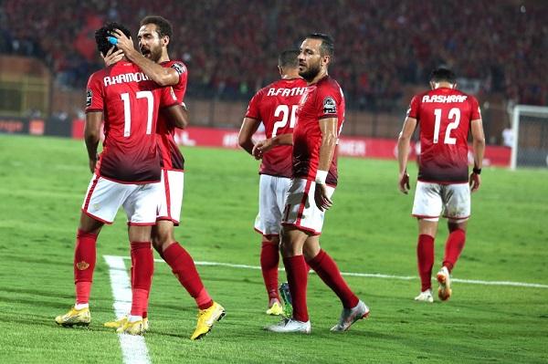 الأهلي يتخطى الجونة ويواصل تسلقه السلم في الدوري المصري