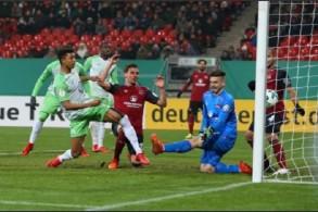 فولفسبورغ إلى المركز الثامن مؤقتا في الدوري الألماني