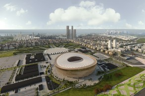 قطر تكشف تصميم ملعب لوسيل المضيف للافتتاح والنهائي