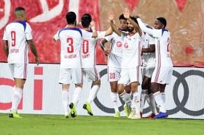 الشارقة يتوج بلقب بطل الشتاء بفوز كبير على الإمارات