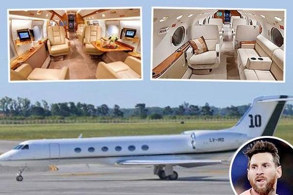 ميسي يشتري طائرة خاصة بـ 15 مليون يورو