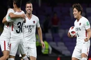 كاشيما يقلب تأخره أمام غوادالاخارا ويلاقي ريال مدريد في نصف النهائي
