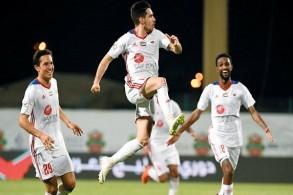 الجزيرة ثانيا في الدوري الإماراتي بفوز مثير على النصر