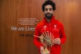 محمد صلاح يحتفظ بجائزة