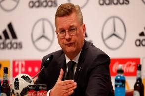 رئيس الاتحاد الألماني لكرة القدم راينهارد غريندل