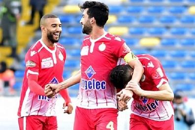 فوز الوداد على الدفاع الجديدي في الدوري المغربي