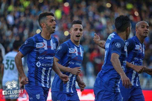 اتحاد طنجة في صدارة البطولة المغربية لكرة القدم