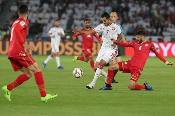 تعادل الإمارات والبحرين في افتتاح كأس آسيا
