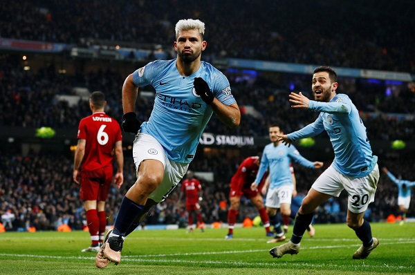 مانشستر سيتي يفوز على ليفربول 2-1 ويكبده الخسارة الأولى هذا الموسم