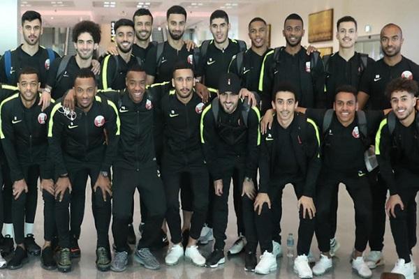 البعثة القطرية تصل الإمارات للمشاركة في كأس آسيا