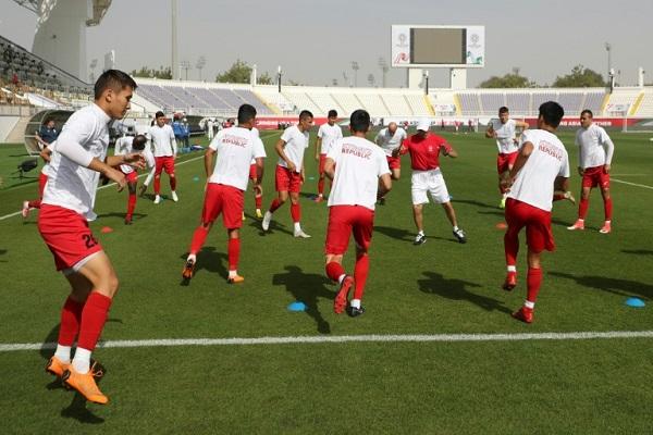 تشارك قيرغيزستان للمرة الاولى في نهائيات كأس آسيا في كرة القدم