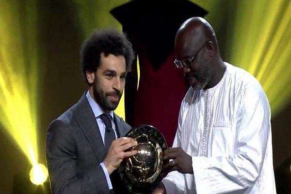 المصري محمد صلاح أفضل لاعب في إفريقيا لعام 2018