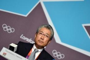 رئيس اللجنة الأولمبية اليابانية تسونيكازو تاكيدا الذي تتهمه السلطات الفرنسية بالفساد في عملية منح طوكيو استضافة أولمبياد 2020