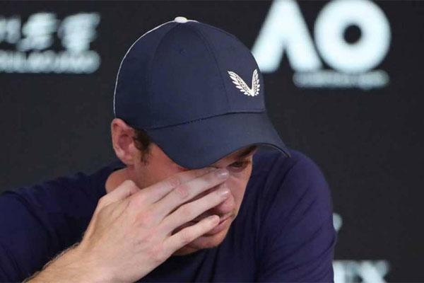 شكل إعلان موراي مفاجأة في كرة المضرب