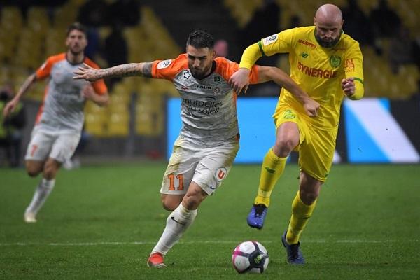 نانت يحرم مونبلييه من الصعود إلى المركز الثالث في الدوري الفرنسي