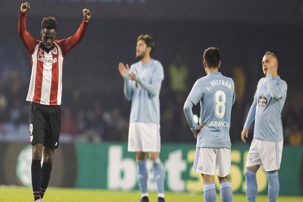فوز ثمين لأتلتيك بلباوعلى سلتا فيغو في الدوري الإسباني