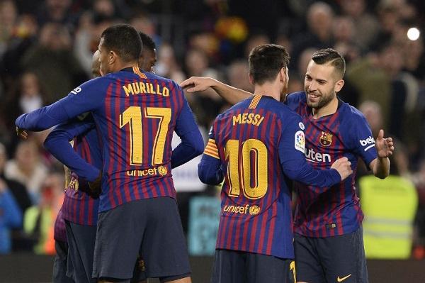 برشلونة يحسم تأهله في الملعب بانتظار شكوى ليفانتي