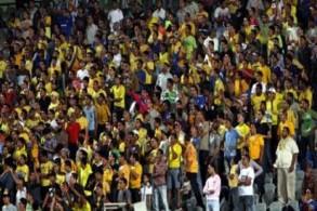 إيقاف مباراة الإسماعيلي والإفريقي بسبب شغب الجماهير