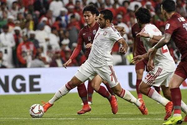 الإمارات حققت تعادلا مخيبا مع تايلاند 1-1