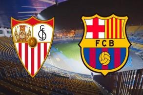 إشبيلية يسعى لوضع حد لسيطرة برشلونة في كأس إسبانيا