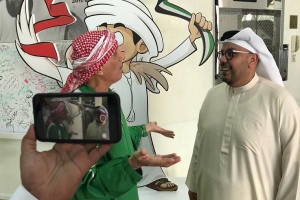 العراقي مهدي الكرخي، أحد أشهر المشجعين في العالم العربي