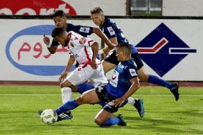 من منافسات البطولة الاحترافية المغربية