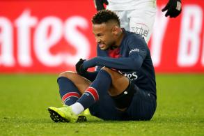 نيمار يعاني من إصابة جديدة في مشط القدم