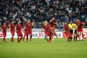 الأردن يودع دور الـ16 أمام فيتنام بركلات الترجيح