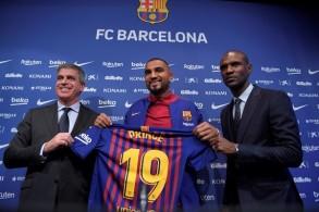 كيفن برينس بواتنغ متقبل لدوره كبديل في برشلونة