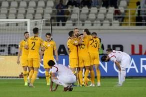 فوز استرالي صعب على سوريا 3-2 في الدقائق الاخيرة من دور المجموعات