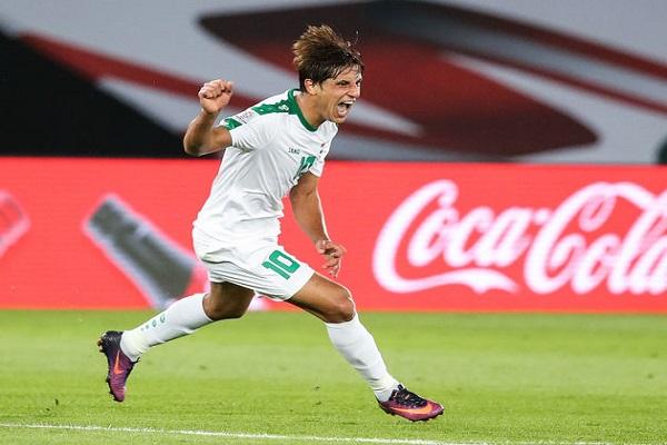 الشرطة العراقي يرفض عروض أندية أوروبية لضم لاعبه مهند علي بينها يوفنتوس
