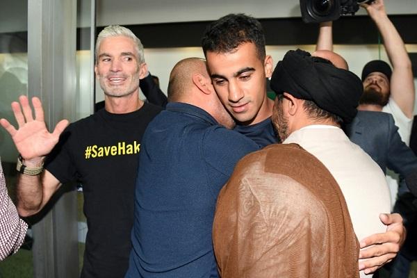 العريبي يعود إلى أستراليا بعد انتهاء احتجازه في تايلاند