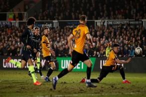 مانشستر سيتي ينهي مغامرة نيوبورت ويبلغ ربع نهائي كأس إنكلترا