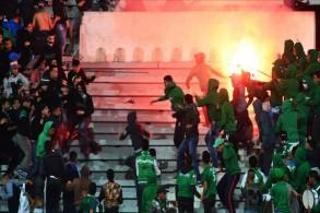 إيقاف 42 مشجعا عقب أحداث شغب في المغرب