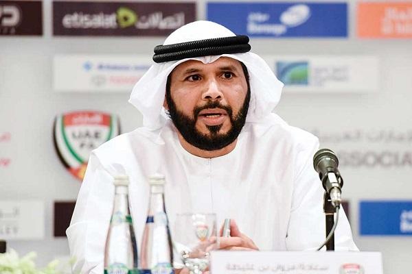 مروان بن غليطة .. رئيس الإتحاد الإماراتي لكرة القدم