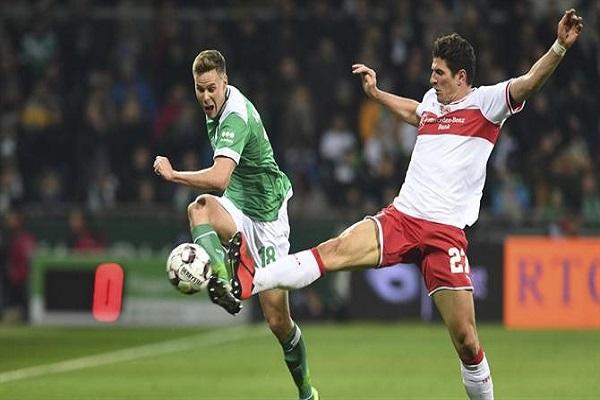 تعادل شتوتغارت وفيردر بريمن في الدوري الألماني