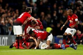 مانشستر يونايتد يثأر من البطل تشلسي ويبلغ ربع نهائي كأس إنكلترا