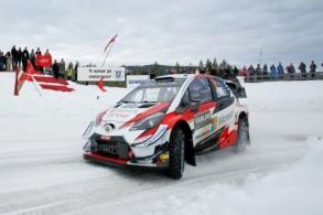 تاناك يحرز المركز الأول في رالي السويد ويتصدر الترتيب العام للسائقين