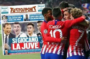 توقعت الصحافة الإيطالية ان تقوم إدارة النادي بالتضحية بهذا الرباعي