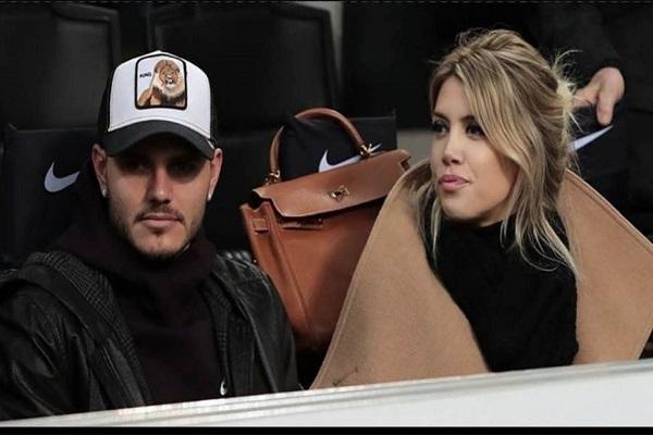 واندا نارا برفقة زوجها إيكاردي