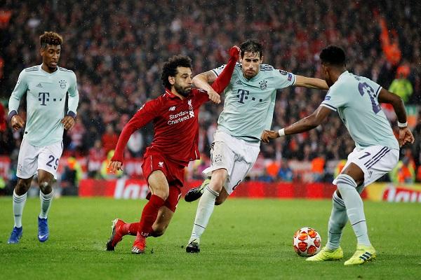 بايرن ميونيخ يعود بتعادل سلبي من ليفربول