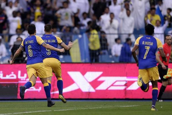النصر يتخطى الشباب ويقلص الفارق مؤقتا عن الهلال في الدوري السعودي