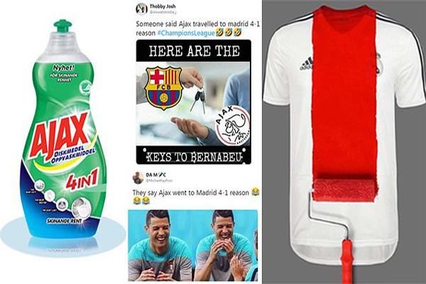 حفلت مواقع التواصل الاجتماعي بالصور الساخرة من سقوط ريال مدريد المدوي
