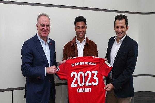 غنابري يمدد عقده مع بايرن ميونيخ حتى 2023
