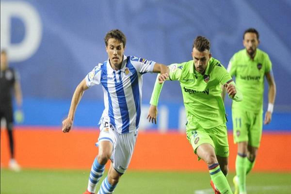 تعادل مخيب لريال سوسييداد مع ليفانتي في الدوري الإسباني
