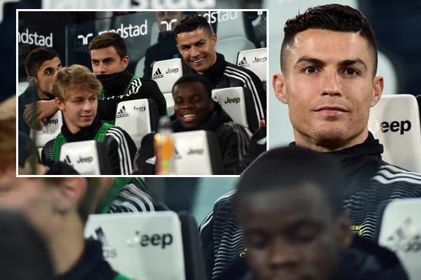 مدرب يوفنتوس قد قرر إراحة رونالدو ليكون جاهزاً لخوض المواجهة أمام اتلتيكو مدريد في مسابقة دوري أبطال أوروبا