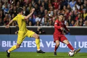 تعادل سلبي للبرتغال مع أوكرانيا برغم عودة رونالدو