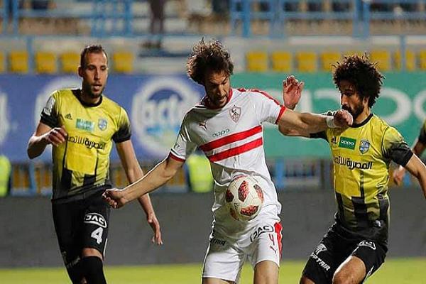 المقاولون يشعل صدارة الدوري المصري بتعادله مع الزمالك