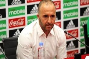 مدرب المنتخب الجزائري لكرة القدم جمال بلماضي