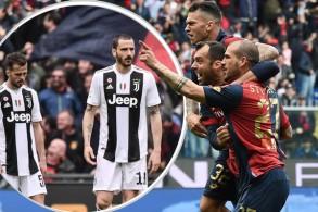 كانت جماهير يوفنتوس تأمل ان ينجح لاعبو الفريق في تحقيق بطولة الدوري دون خسارة للمرة الثانية في تاريخ البطولة